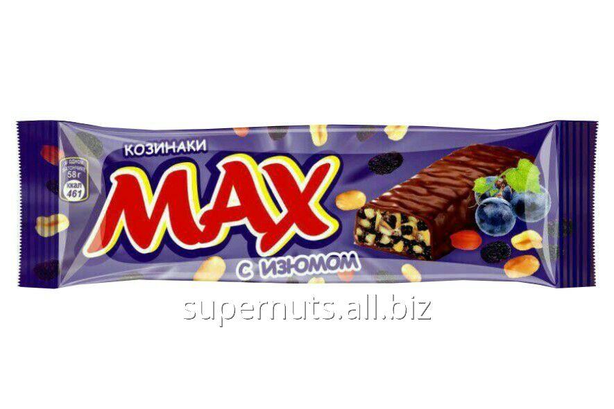 Батончик Max с изюмом