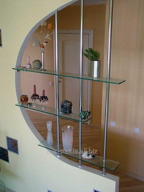 стекло полочки фото