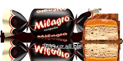 Buy The candies glazed by chocolate-milk Milagro glaze