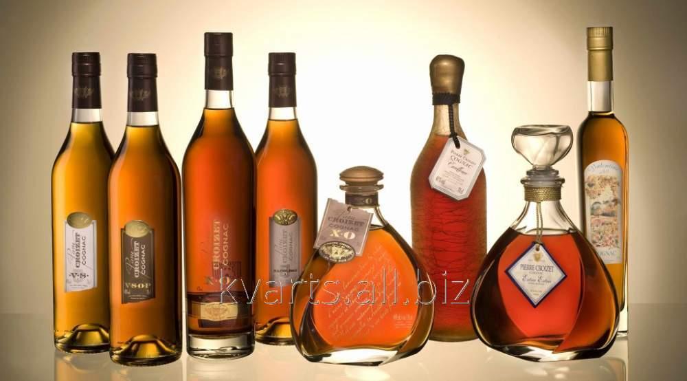Бутылки коньячные