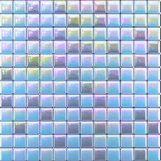 Купить Стеклянная мозаика Голубой, серый