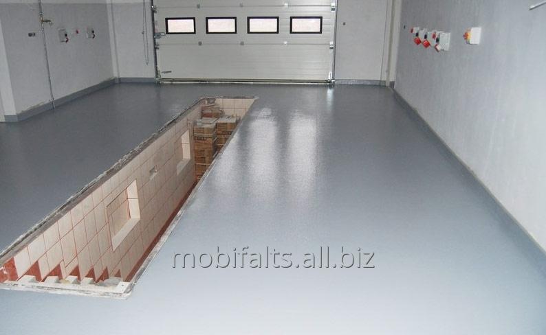 Наливной пол - толстослойный полимерный мастика битумная 20л 20 кг