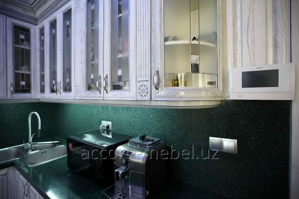 Кухонные полки под заказ от Accord Mebel