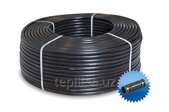 Drip irrigation hose c built round emitter for gardens