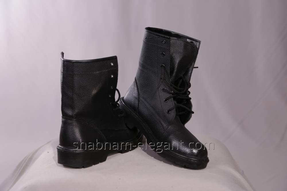 Ботинки черные высокие