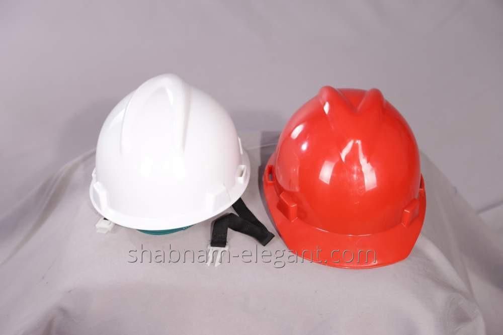 The helmet is construction