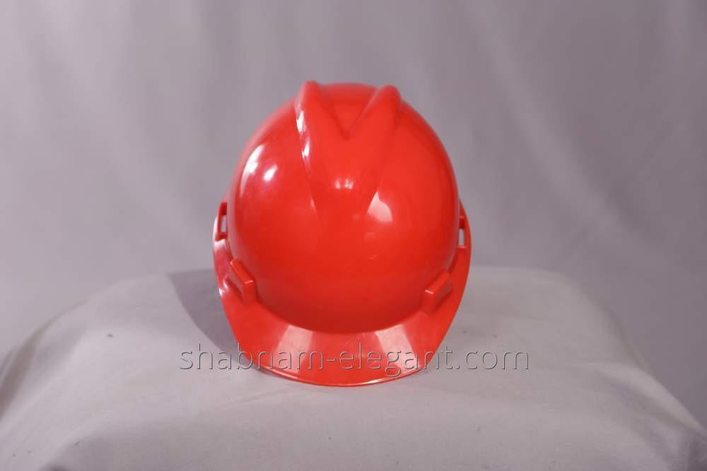 Каска красная