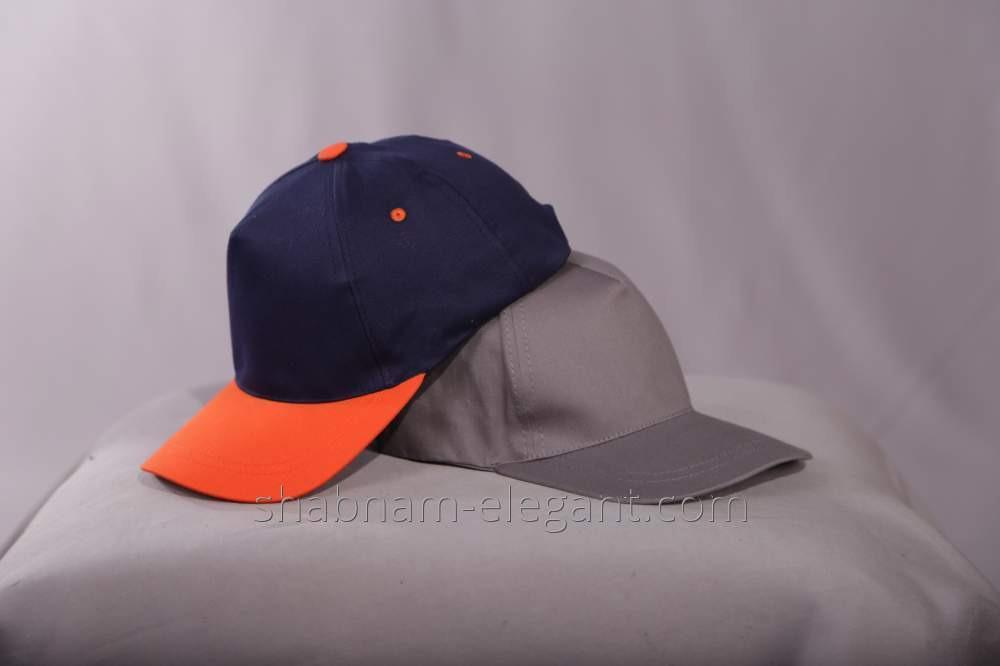 Baseball Cap black-orange