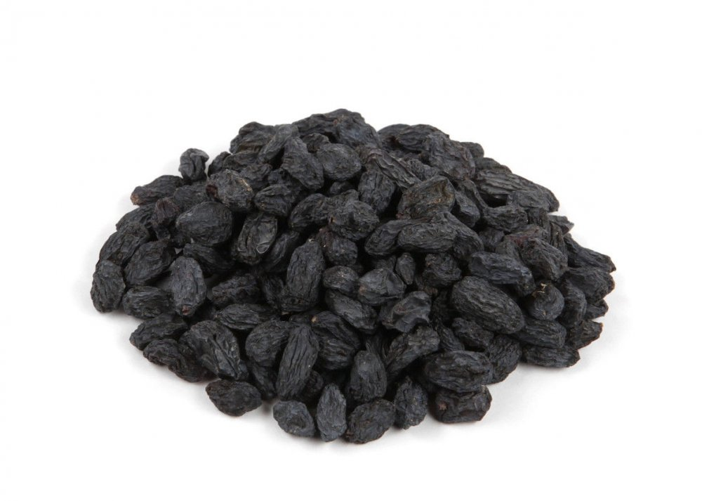 Raisins black shadow drying