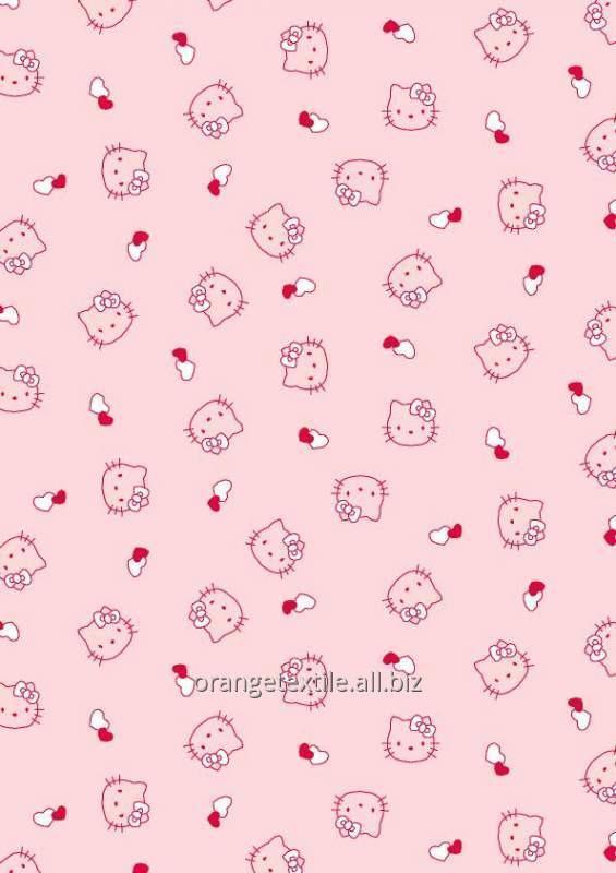 Ткани для пастельного белья для девочек