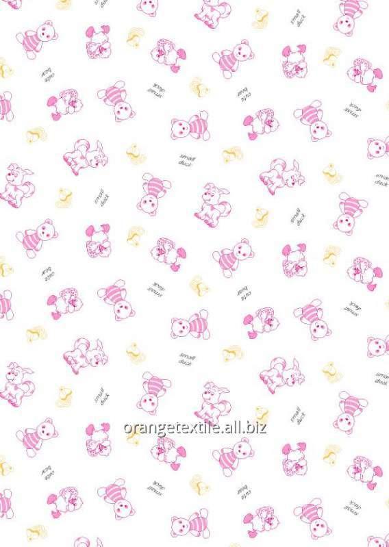 Ткани для пошива пастельного белья для девочек