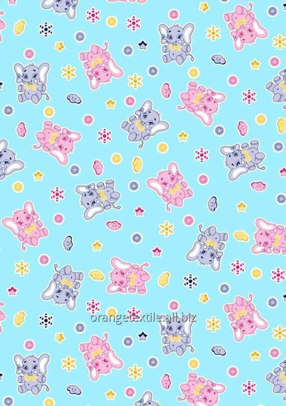 Текстиль детские ткани