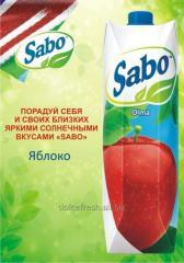 Сок Sabo яблоко