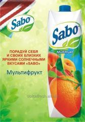 Сок Sabo мультифрукт
