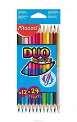 Карандаши цветные Maped Duo