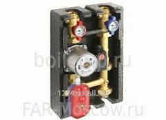 Pump groups for heat pumps
