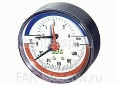 Manometric thermometers