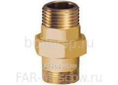 Adapters for pipes made of brass