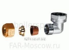 """Угольник SolarFAR 3/4"""" ВР с концовкой для"""