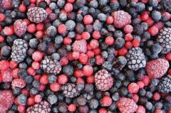 Fresh-frozen berries