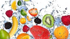Fruits fast freezing, baby nutrition