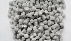 Polypropylene composite granules. Fibreglass.