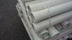 PVC sewer pipe ⌀75 mm 2.2 mm to 3 m