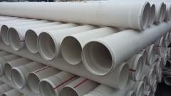 Pipe PVC of sewer ⌀160 mm 3,6 mm 1 m