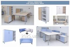 Office furniture for personnel