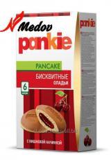 Бисквит Pankie  с вишневой начинкой