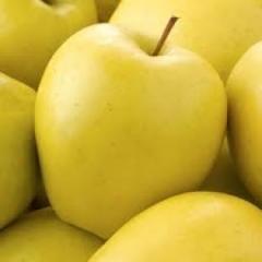 Яблоки свежие желтые