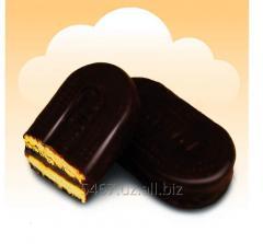 Печенье - Мармеладное овальное в глазуре