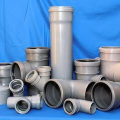 Fittings for PVC sewer pipes