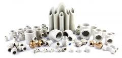 PPR fittings for plastic pressure pipes