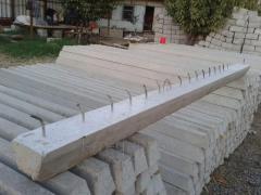 Ferro-concrete racks