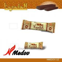 Шоколадные батончики Караван