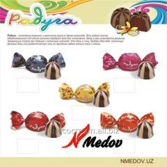 Шоколадные конфеты Радуга