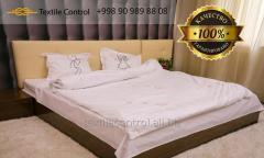 Las telas de cama