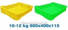 Ящики пластмассовые 10-12 кг   600x400x115