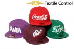 Las gorras de béisbol con la marca de fábrica del