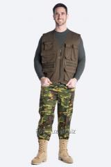 Men's vest of the exper