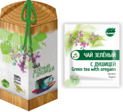 Green tea with a dushitsa a scattering of 50 g