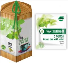 Чай зелёный с мятой россыпь 50г