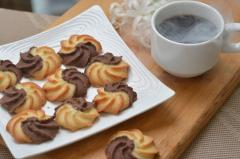 Biscuit shortbread cookies