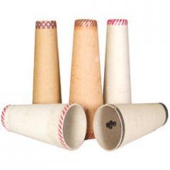 Paper textile cones