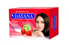 DAYANA крем-мыло с ароматом Клубники