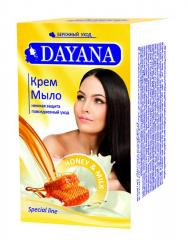 DAYANA cream SOAP with the scent of honey and Milk