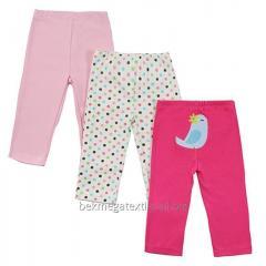 Трикотажные брюки детские