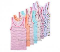 Les maillots de corps d'enfant
