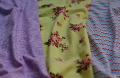 Knitted fabrics printed in Uzbekistan